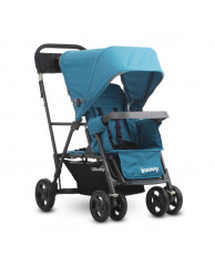 Коляска CABOOSE Graphite ULTRALIGHT голубой (для двоих детей)