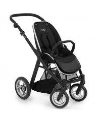 Детская коляска Oyster MAX (шасси+прогулочный блок), чёрный