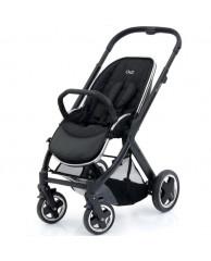 Детская коляска Oyster2 (шасси+прогулочный блок), чёрный/чёрный