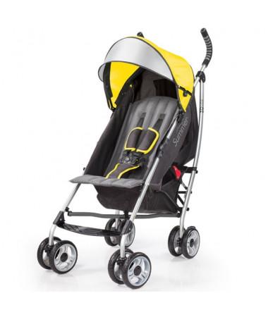 Детская  прогулочная коляска 3D Lite, жёлтый