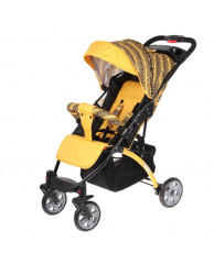 Прогулочная коляска Tetra, цвет жёлтый