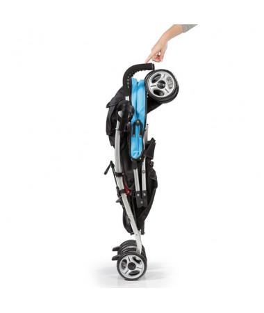 Детская  прогулочная коляска 3D Lite, голубой