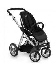 Детская коляска Oyster MAX (шасси+прогулочный блок), хром