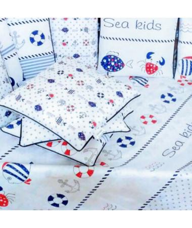 Комплект в кроватку Vanchetti Sea Kids mini арт.052