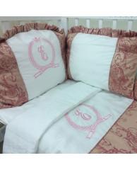 Комплект в кроватку Esperanza Beleza, розовый