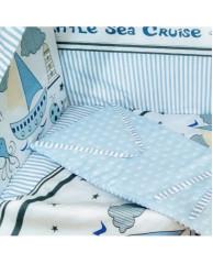 Комплект в кроватку Vanchetti Sea Cruise mini арт.059