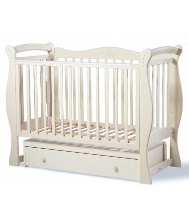 Детская кроватка Esperanza Rumina Crown decor 20 поперечный маятник
