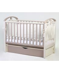 Детская кроватка Esperanza Camila decor LD-05 продольный маятник
