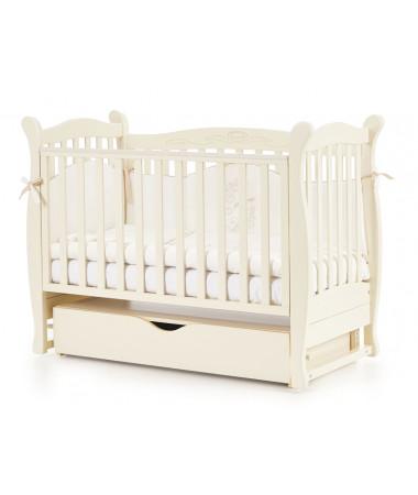 Детская кроватка Esperanza Leticia decor LD-15 поперечный маятник