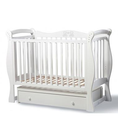 Детская кроватка Esperanza Rumina Teddy decor 20 поперечный маятник