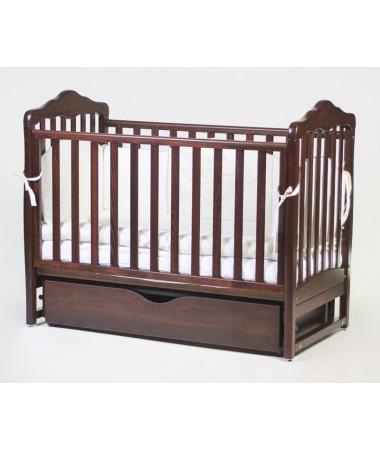 Детская кроватка Esperanza Daniela decor LD-11 поперечный маятник