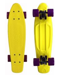 """Скейтборд 22"""" TLS-401 Classic желтый"""