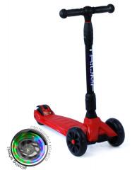 Самокат трехколесный SKL-L-02 Maxi Pro Flash Красный