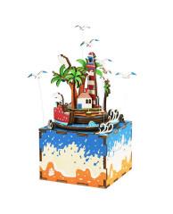 Деревянный 3D конструктор - музыкальная шкатулка Robotime