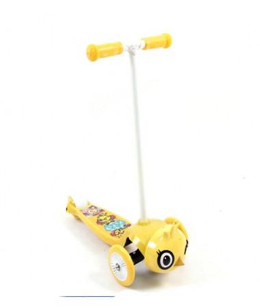 Самокат 3-х колесный Rexco 3D Цыпленок Янни