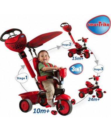Велосипед 3-х колесный 3 в 1 Smart trike ZOO