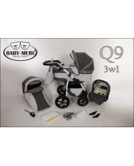 Коляска 3 в 1 Baby-Merc Q 9