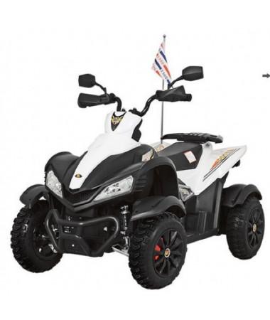 Детский спортивный электроквадроцикл Dongma ATV White 12V - DMD-268A-W