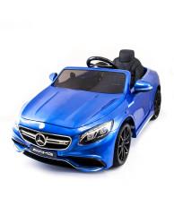 Детский электромобиль Mercedes Benz S63 LUXURY 2.4G - Blue - HL169-LUX