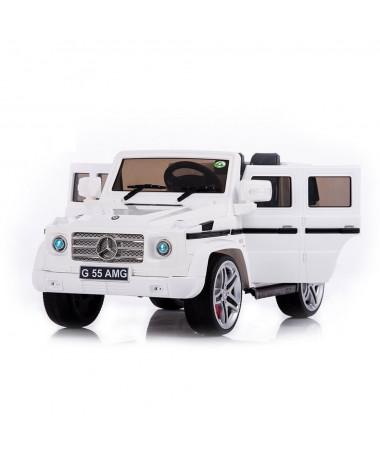 Радиоуправляемый детский электромобиль Mercedes Benz G55 White 12V 2.4G - DMD-178-W