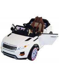 Детский электромобиль Range Rover Luxury White 12V 2.4G - SX118-S