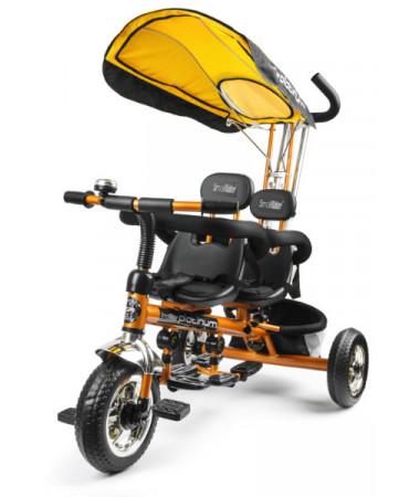 Велосипед трехколесный для двойни Small Rider Platinum