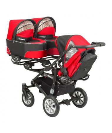 Коляска для трех детей Babyactive Trippy 2 в 1