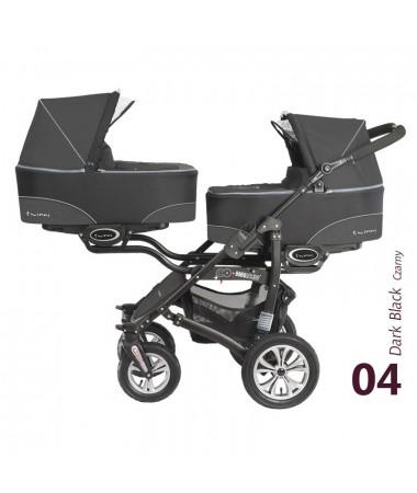 Коляска для двух детей Babyactive Twinni 2 в 1
