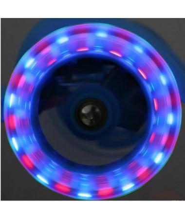 Самокат Novatrack Foxx PU100 светящиеся колеса
