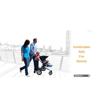 Подставка для второго ребенка Lascal BuggyBoard Maxi