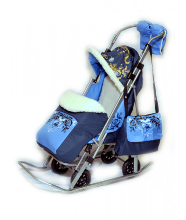Санки-коляска Sofi Luxury