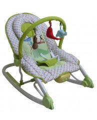 Шезлонг с вибрацией Sweet Baby Zoo Emerald