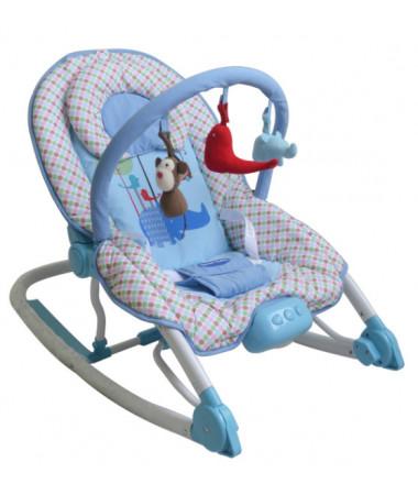 Шезлонг с вибрацией Sweet Baby Zoo Sapphire