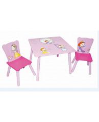 Набор детской мебели стол и стулья Sweet Baby Duo Little princess