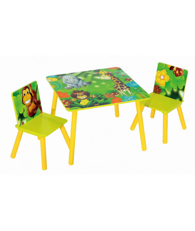 Набор детской мебели стол и стулья Sweet Baby Duo Safari