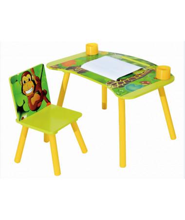 Набор детской мебели стол и стул Sweet Baby Genius Safari
