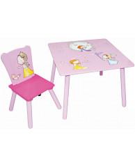 Набор детской мебели стол и стул Sweet Baby Uno Little princess