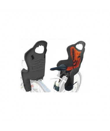 Детские велокресла HTP Sanbas/Frame/Beige (на раму сзади, до 22 кг, 3-6 лет)