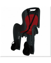 Детские велокресла HTP Bingo/Frame/Grey Dark (на раму сзади, до 22 кг, 3-6 лет)