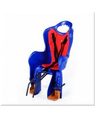 Детские велокресла HTP Elibas/Frame/Blue (на раму сзади, до 22 кг, 3-6 лет)