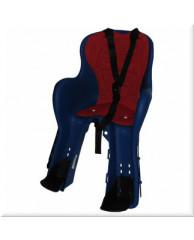 Детские велокресла HTP Kiki DeLuxe/Frame/Blue (на рулевую трубу спереди, до 15 кг, 1-3 лет)