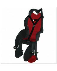Детские велокресла HTP Sanbas/Frame/Grey Dark (на раму сзади, до 22 кг, 3-6 лет)