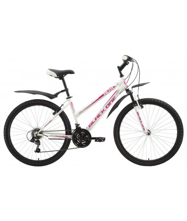 Велосипед Black One Alta White-Pink 14,5''