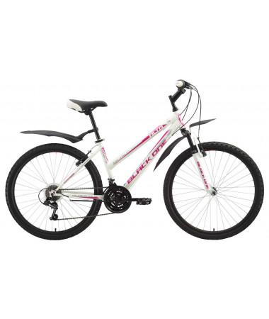Велосипед Black One Alta  White-Pink 16''