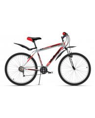 Велосипед Challenger Agent серебристо-красный 16''