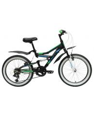 Велосипед Stark'15 Appachi черный-зеленый
