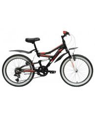 Велосипед Stark'15 Appachi черный-красный