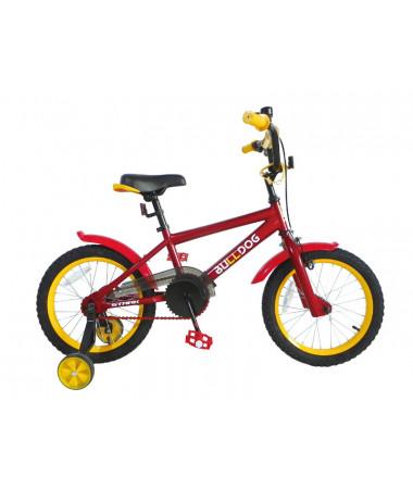 "Велосипед Stark'15 Bulldog красный-желтый 16"""
