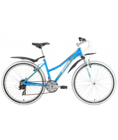 """Велосипед Stark'15 Chaser Lady голубой-желтый 18"""""""