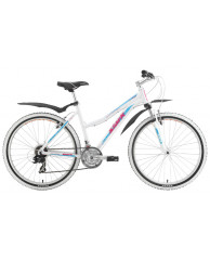 "Велосипед Stark'15 Chaser Lady белый-голубой 14,5"""